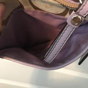 Coach Bags - Coach bag with lavender detail